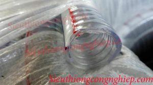 Ống nhựa mềm lõi thép không mùi tại AZK