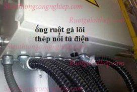Ống ruột gà lõi thép nối tủ điện