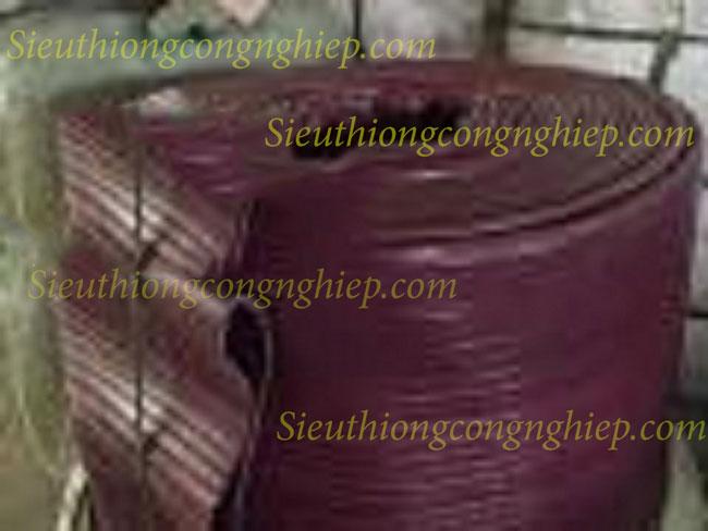Ống bạt cốt dù phủ nhựa tải sỏi màu tím