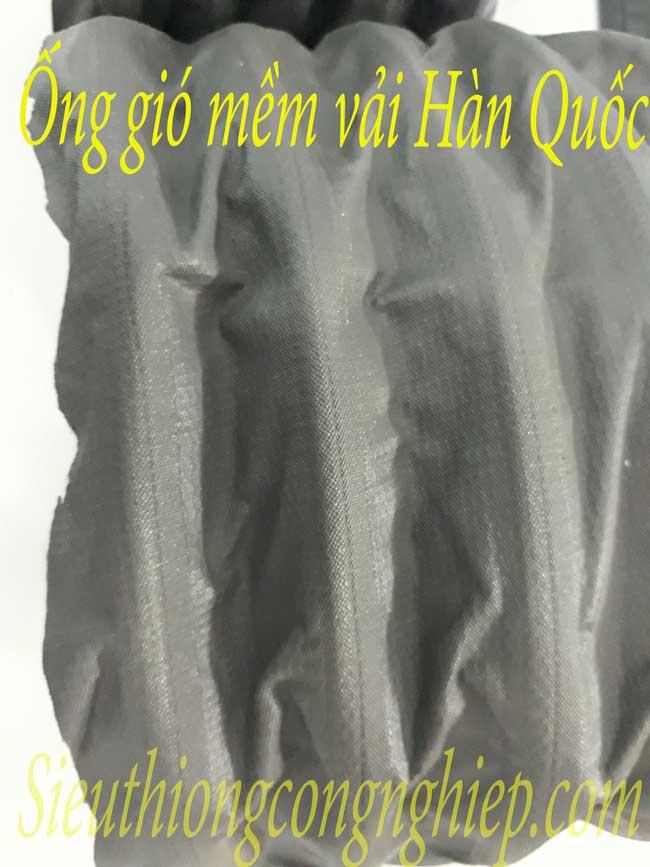 Ống gió mềm vải3