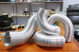 các loại hình dạng ống thông gió nhôm